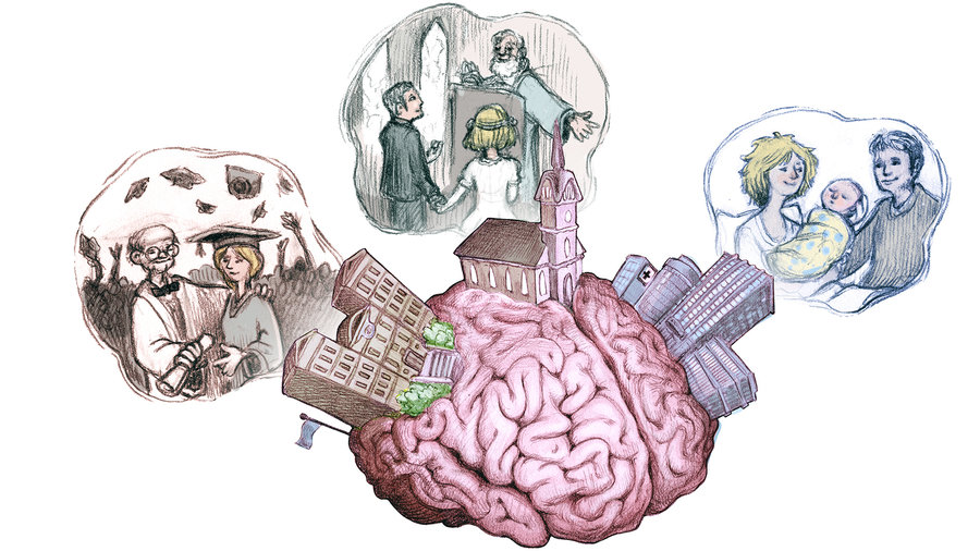 How the Human Brain Creates Memories and Processes Thoughts